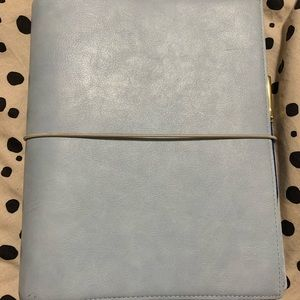 Blue Filofax Domino A5 Agenda WITH INSERTS
